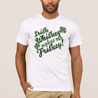Irischer Whisky macht mich Friskey T-Shirt