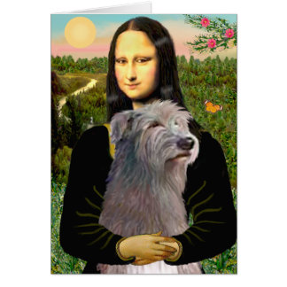 Irischer Wolfhound 1 - Mona Lisa Karte