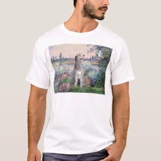 Irischer Wolfhound 6 - durch die Seine T-Shirt