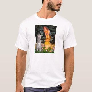 Irischer Wolfhound 6 - MidEve T-Shirt
