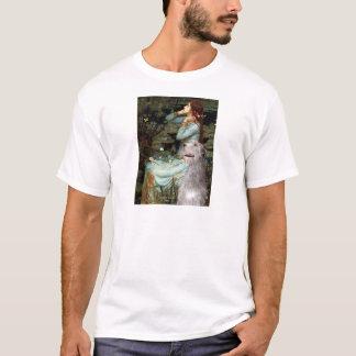 Irischer Wolfhound 6 - Ophelia gesetzt T-Shirt