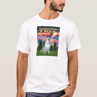 Irischer Wolfhound (d) T-Shirt