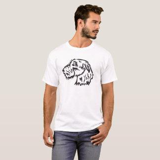 Irischer Wolfhound-Hundeshirt T-Shirt
