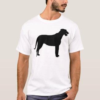 Irischer Wolfhound (im Schwarzen) T-Shirt