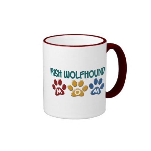 IRISCHER WOLFHOUND Mamma-Tatzen-Druck 1 Kaffeehaferl