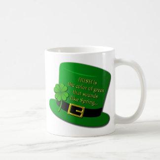 Irischer Zylinder Kaffeetasse