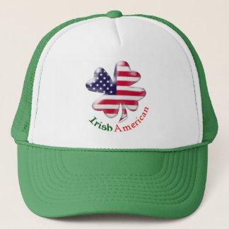 Irisches amerikanisches Kleeblatt Truckerkappe