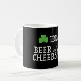 Irisches Bier und Beifall-Tasse Kaffeetasse