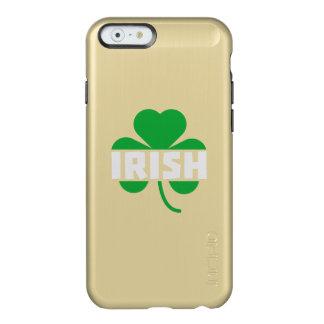 Irisches Cloverleaf-Kleeblatt Z2n9r Incipio Feather® Shine iPhone 6 Hülle