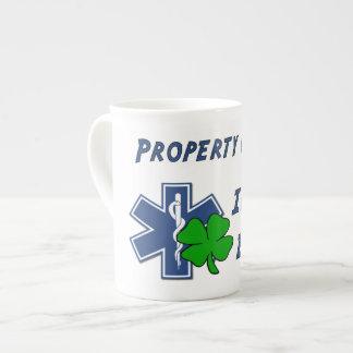 Irisches EMT Eigentum Porzellantasse