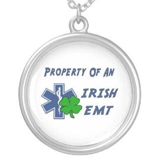 Irisches EMT Versilberte Kette