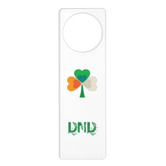 Irisches Flaggen-Kleeblatt Türanhänger