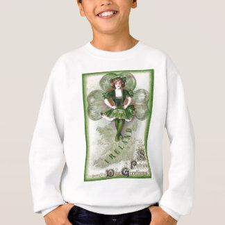 Irisches Frauen-Irland-Kleeblatt Riverdance Sweatshirt
