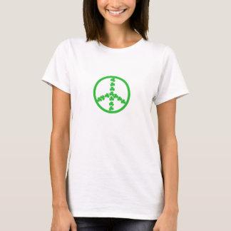 Irisches Friedenslogozeichen T-Shirt