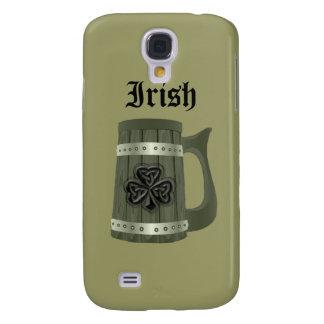 Irisches glückliches Kleeblatt der Grundge Galaxy S4 Hülle