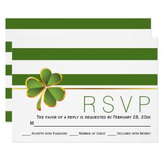 Irisches Kleegrün, weiße Streifen, die UAWG Karte