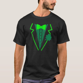 Irisches Kobold-Smoking mit Klee T-Shirt