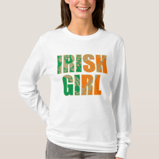 Irisches Mädchen T-Shirt