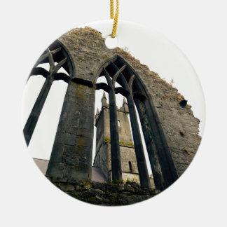Irisches Schloss - Festung - nahe den Toren Keramik Ornament