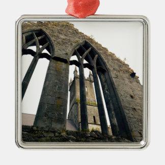 Irisches Schloss - Festung - nahe den Toren Silbernes Ornament