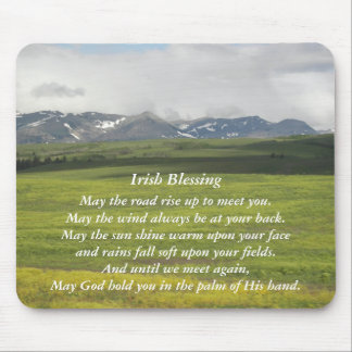 Irisches Segen-grünes Tal-Foto Mauspad