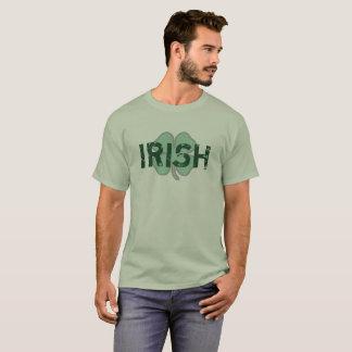 Irisches Shirt Kleeblatt beunruhigten St.-Paddys