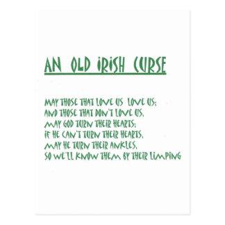 Irisches Sprichwort Postkarte