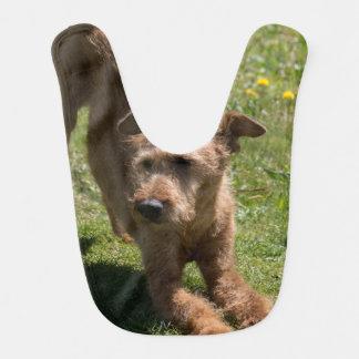 Irisches Terrier-Yoga Babylätzchen