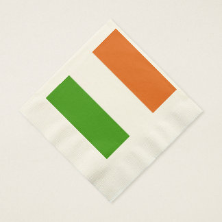 Irisches Tricolor Party Serviette