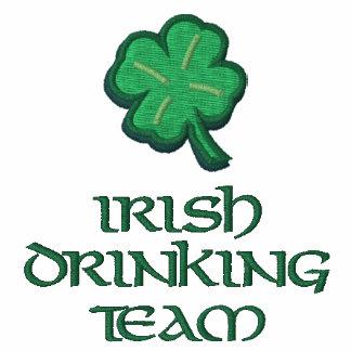 Irisches trinkendes Team