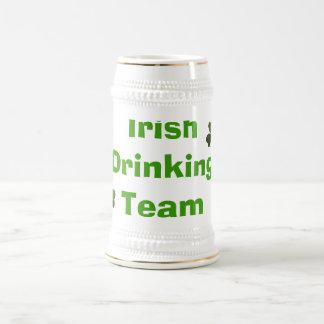 Irisches trinkendes Team Bierglas