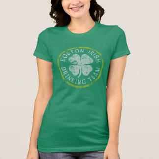 Irisches trinkendes Team Bostons T-Shirt