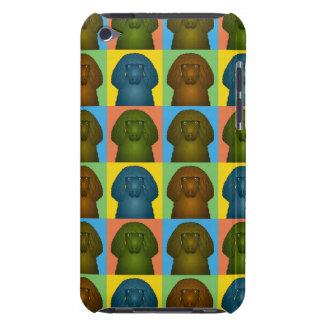 Irisches Wasserspaniel-HundeCartoon Pop-Kunst Case-Mate iPod Touch Case