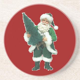 Irisches Weihnachten Weihnachtsmann Untersatz