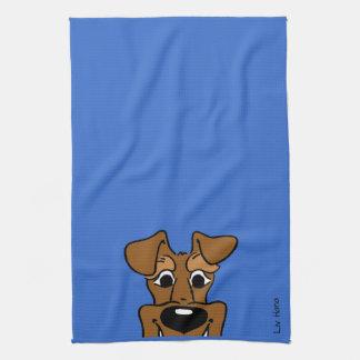 Irish Terrier Smile Geschirrtuch