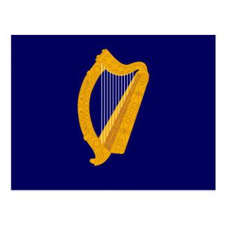 Irland-Emblem Postkarte