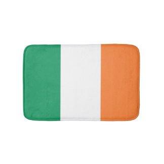 Irland-Flagge Badematte