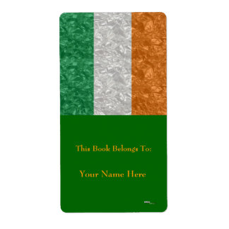 Irland-Flagge - gekrümmt