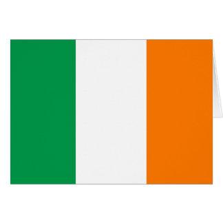 Irland-Flagge Grußkarten