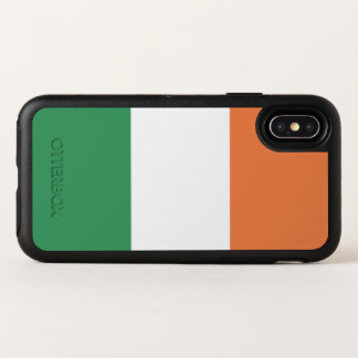 Irland-Flagge OtterBox Symmetry iPhone X Hülle
