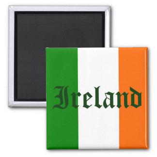 Irland-Flagge Quadratischer Magnet