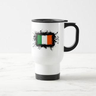 Irland-Flagge Reisebecher