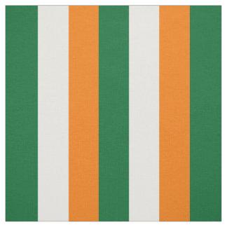 Irland-Flagge Stoff