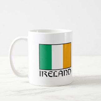"""Irland-Flaggen-Tassen-""""Leuchtturm-Weg Kaffeetasse"""