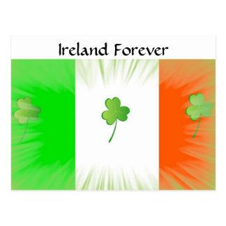 Irland für immer postkarte