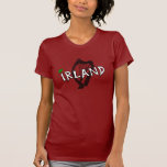 Irland Harfe Girlie Shirts