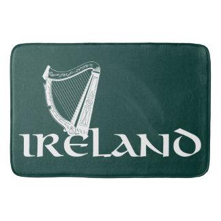 Irland-Harfen-Entwurf, irische Harfe Badematte