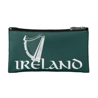 Irland-Harfen-Entwurf, irische Harfe Kosmetiktasche
