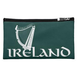 Irland-Harfen-Entwurf, irische Harfe Makeup-Tasche