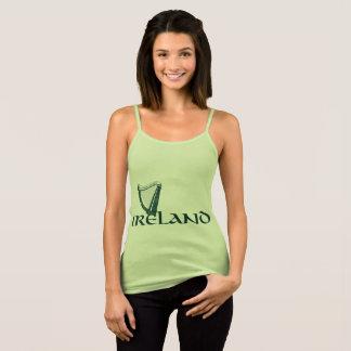 Irland-Harfen-Entwurf, irische Harfe Tank Top